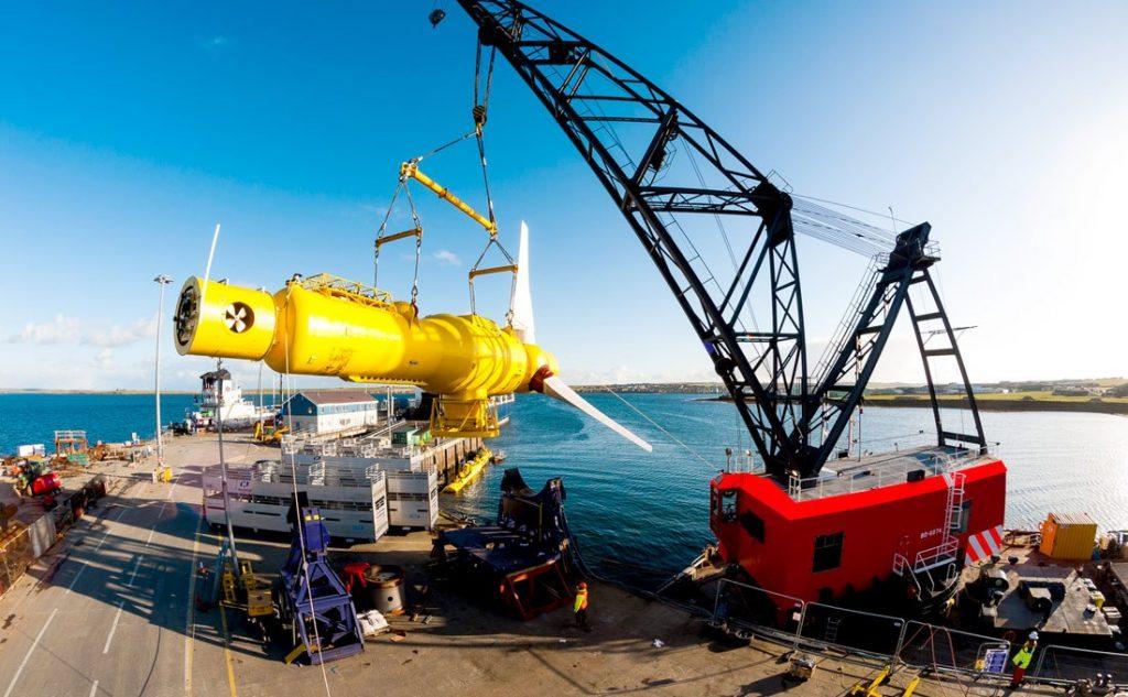 Rolls Royce / TGL  Tidal Generator Thruster System