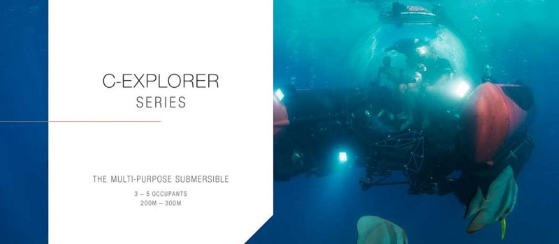 Deep Submersibles C-Explorer_series