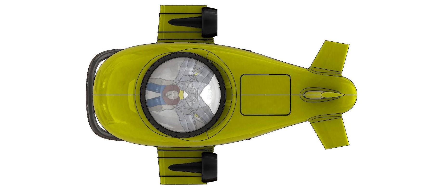 Wet Sub 3 Pax